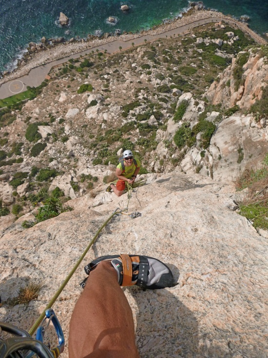 Loads of great climbing on the 'Costa Blanca'