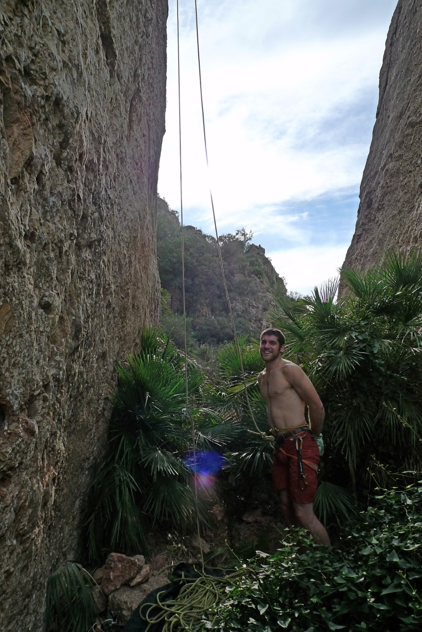 Duncan ready to start working 'Matas - Gines 7b+'