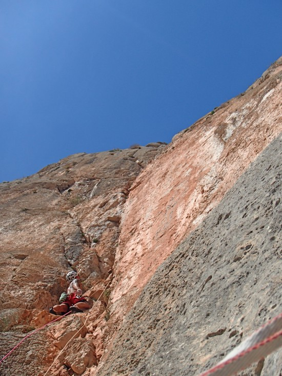 38m of great climbing