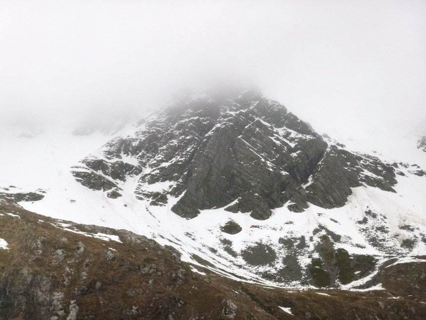 Central Buttress - Stob Ban