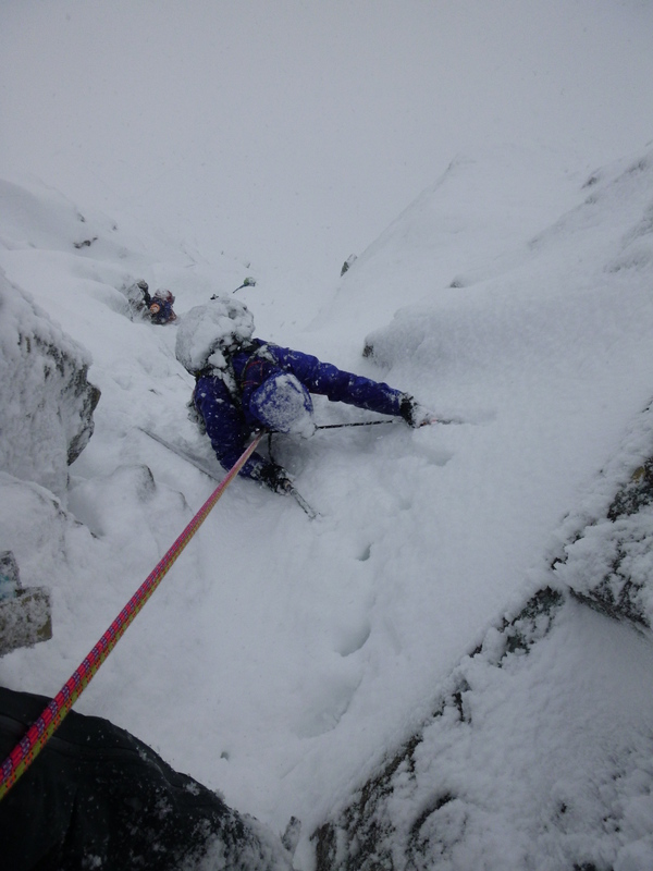 Very Scottish conditions today - great fun!