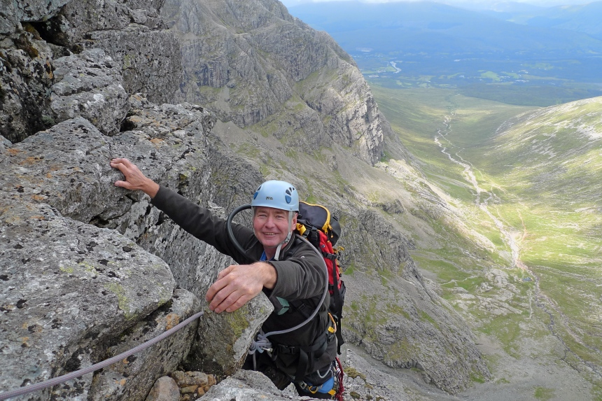 A grand day out on Ben Nevis' NE Buttress