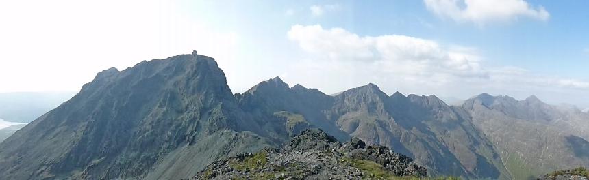 The Cuillin Ridge at its best