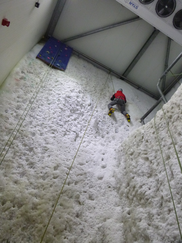 Ice wall fun
