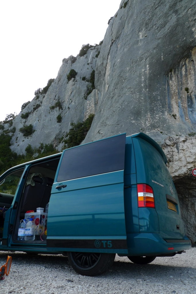 Van life in the Verdon is awesome!