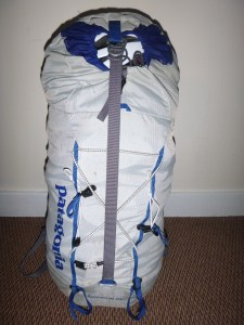 Packed ready for a days work in the mountains