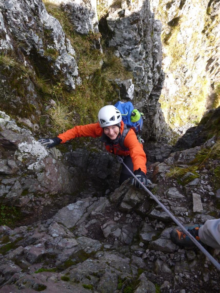 Plenty of fun scrambling along the ridge