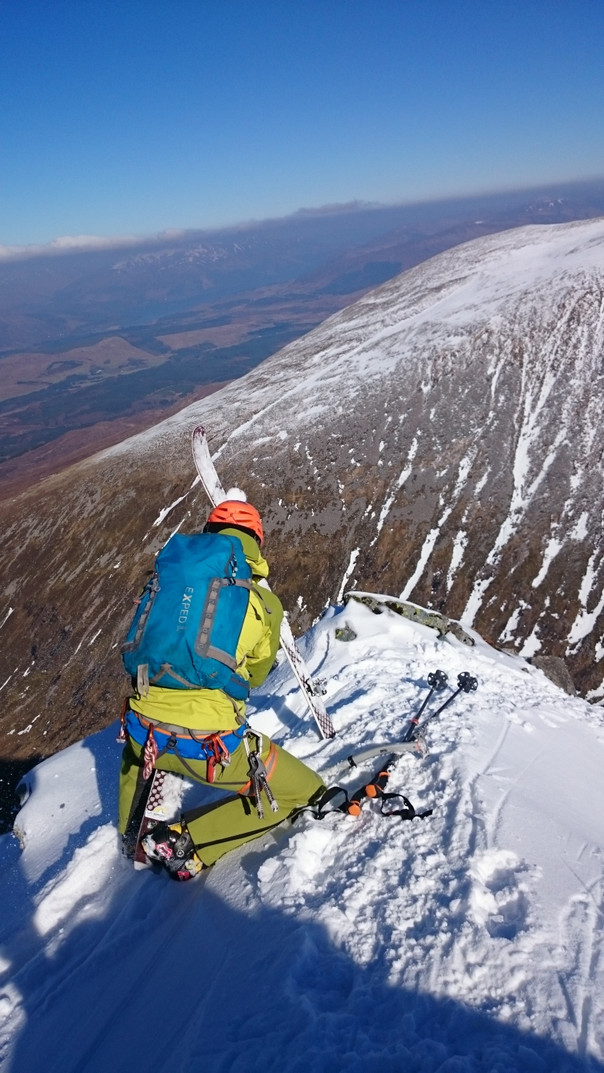 Ski descent anyone?
