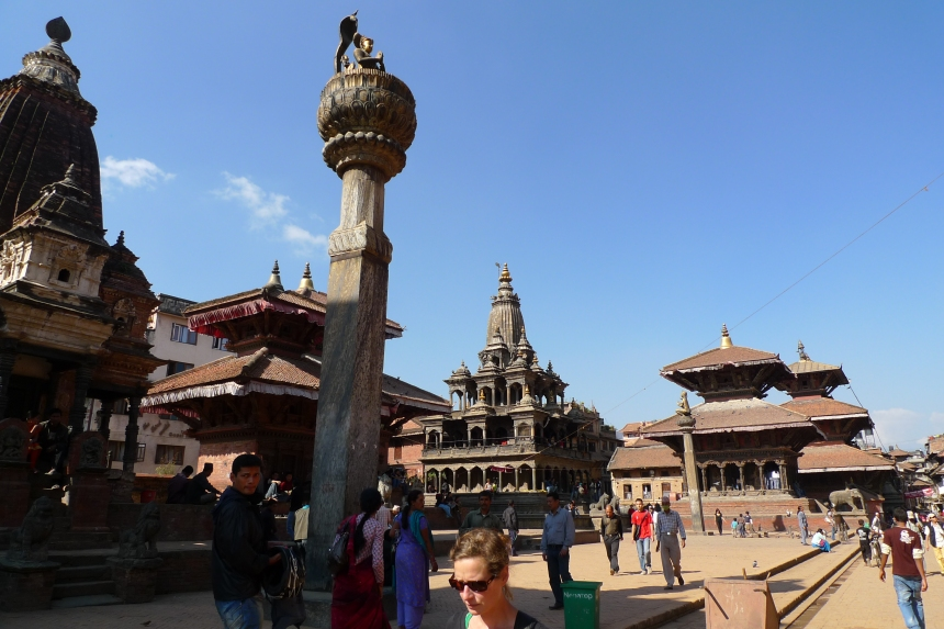 There has been major damage at Bhaktapur kathmandu