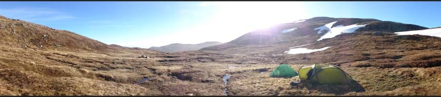 Wild camping - bliss!