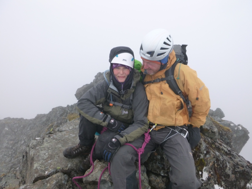 Summit of Sgurr Alasdair