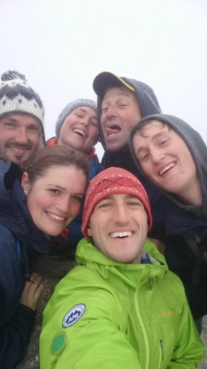 Ben Nevis summit selfie!