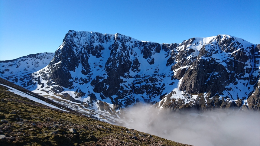North Face of Ben Nevis looking spectacular