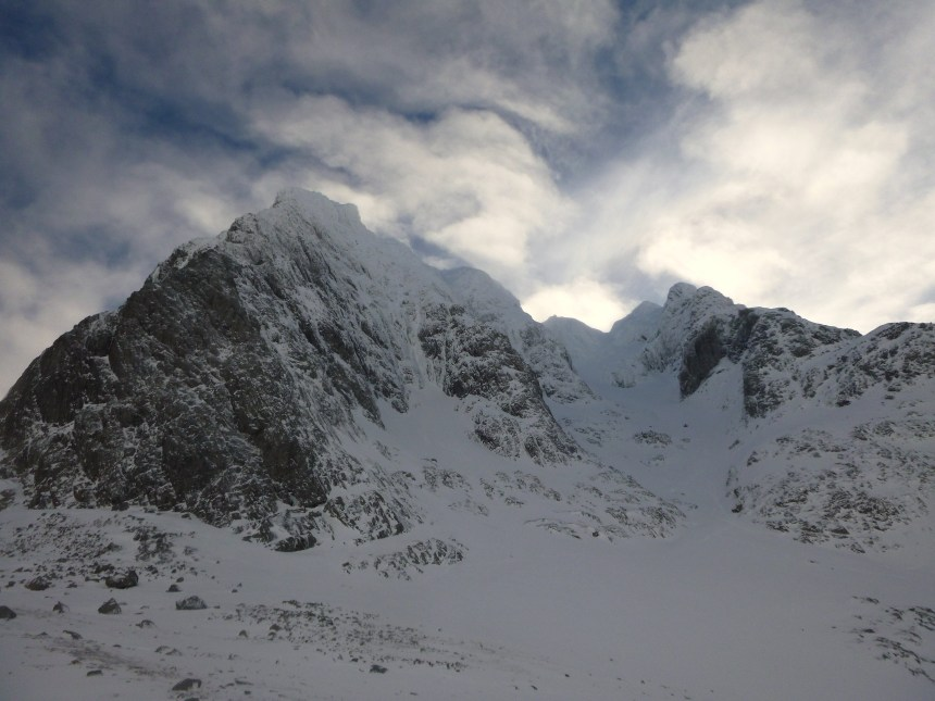 Orion Face Direct (V,5)**** ....'one of the finest winter climbs in Scotland....'