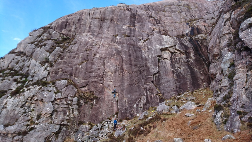 Main Wall; Diabaig