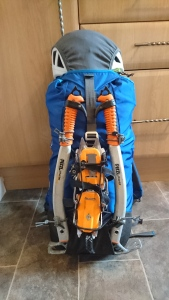 Packed ready for Good Friday Climb, Ben Nevis
