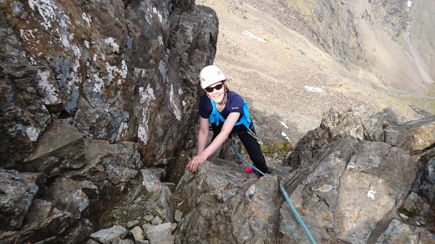 Climbing Sgurr a Gillean