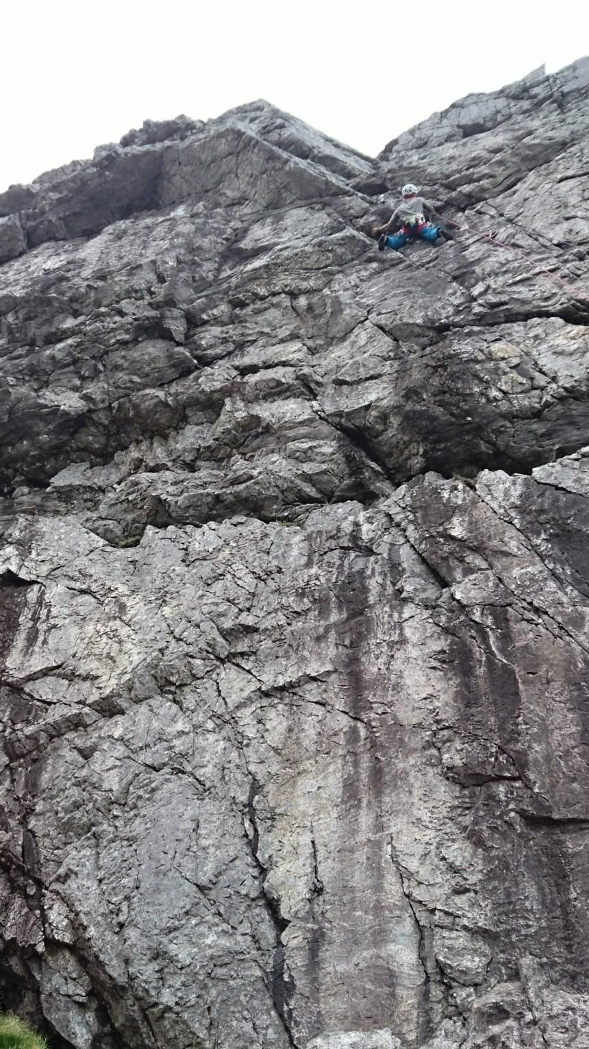 Rock Climbing Garbh-Bheinn