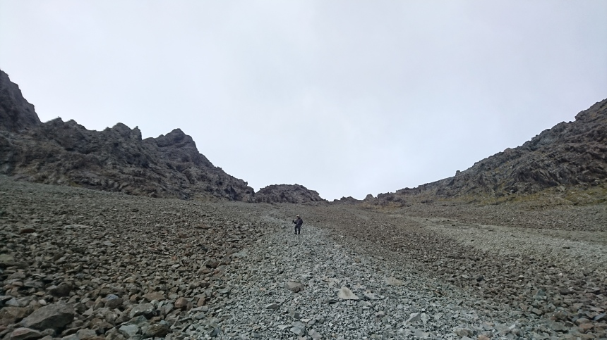 Descending An Stac Screes