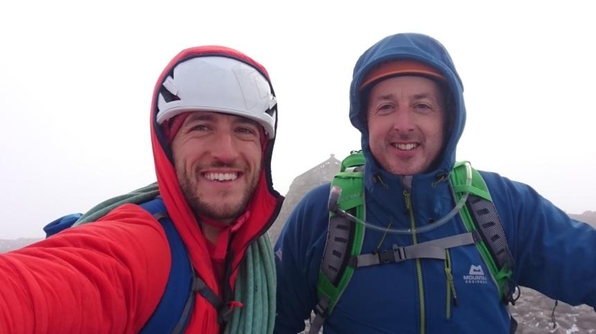 Me and Ian atop Ben Nevis