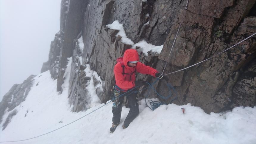 Ben Nevis Climbing