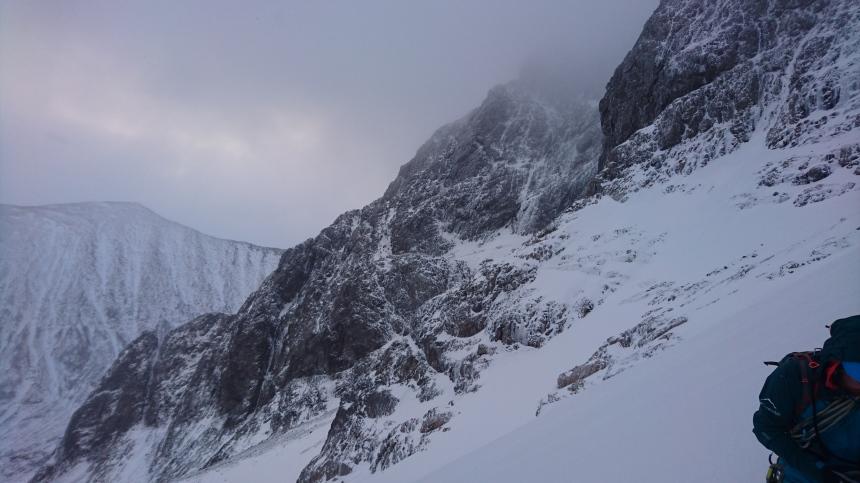 Ben Nevis Winter Climbing