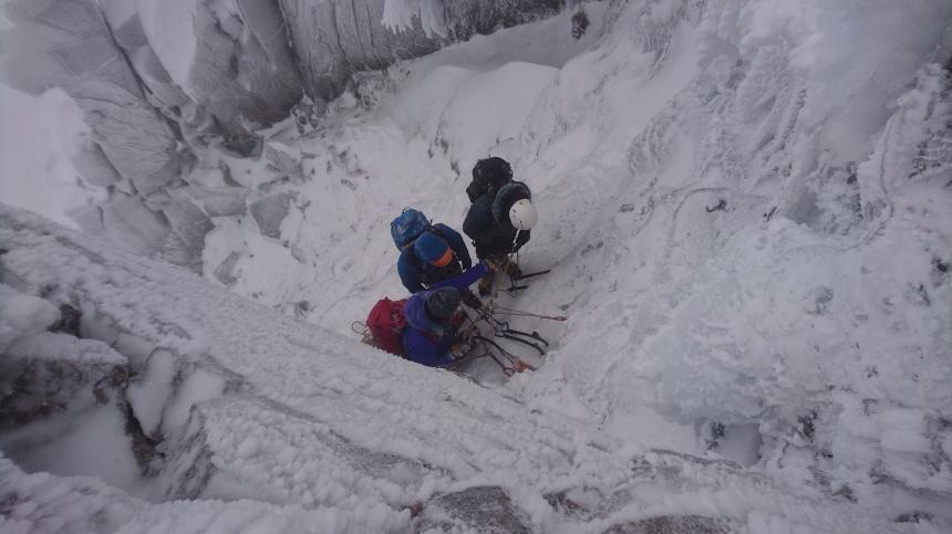 Teaching climbing