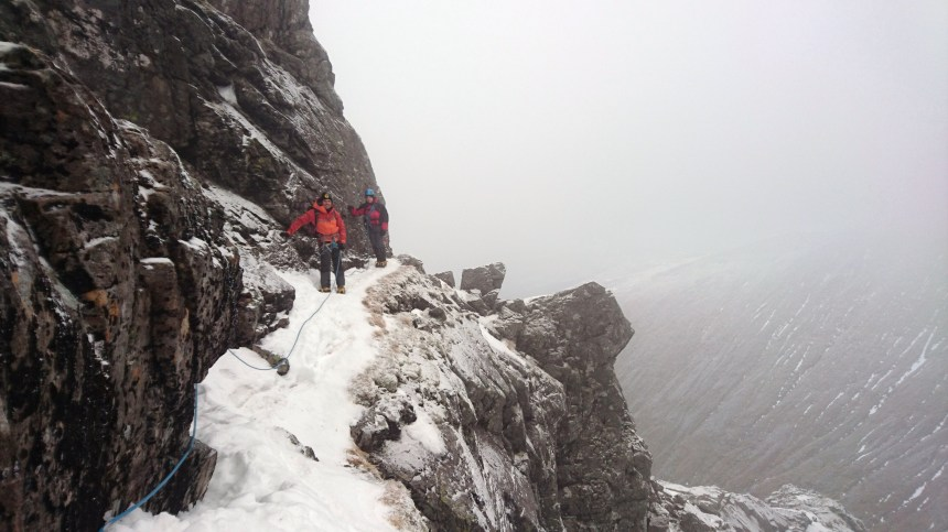 Eastern Traverse in friendly conditions